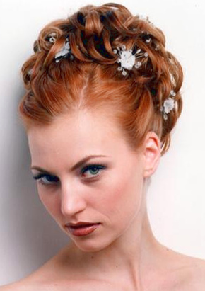 Updo Hairstyle for wedding